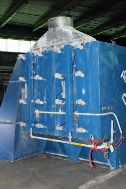 Dust Collector 8,128 sq.ft. Donaldson Torit reverse pulse jet dust collector up to 20,300 cfm