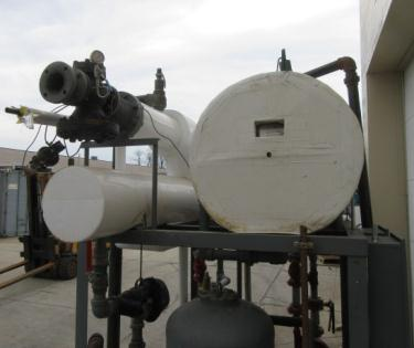 Miscellaneous Equipment foam cleaning system, CIP skid