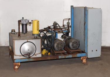 Pump 10 hp American Lifts hydraulic power unit, model Low Profil Unit, 35 gal(US) reservoir tank, 2000 psi