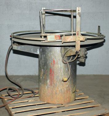 Accumulation Table 48 KAPS-ALL rotary accumulation table, model FS-U-48, Stainless Steel