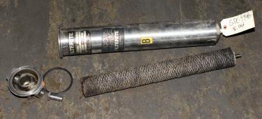 Filtration Equipment 1 NPT Filterite Corp. cartridge filter model 910067, Stainless Steel