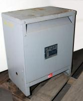 Transformers and Switchgear 27 kva GS Hevi-Duty Electric dry transformer, 460 Delta high voltage, 230Y/ 133 low voltage, 3 phase