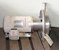 Pump 2.5x1.5x7 Alfa Laval centrifugal pump, 2 hp, Stainless Steel Contact Parts