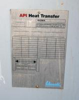 Heat Exchanger 84 sq.ft. API Schmidt plate heat exchanger, Stainless Steel Contact Parts