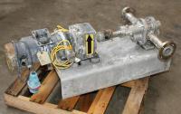 Pump 1.5 NPT inlet Pulsafeeder Eco gear pump positive displacement pump model GA 12 ACCKK24, 1 hp, 316 SS