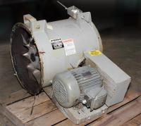 Blower 10101 cfm centrifugal fan Aerovent size 22 model 22 T734 TTABD, 7.5 hp, CS