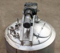 Kettle 300 gallon APV Crepaco processor kettle, agitator 1.5 hp side scrape, 75 psi jacket rating, Stainless Steel, internal baffles