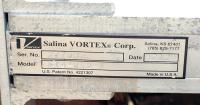 Valve 14 Salina Vortex gate valve, pneumatic, Stainless Steel Contact Parts