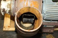 Blower centrifugal fan Howden Buffalo model 33 Volume CW-360D, 5 hp, Cast Iron