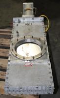 Valve 12 Salina Vortex gate valve, pneumatic, Stainless Steel Contact Parts