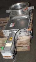 Valve 16 Salina Vortex gate valve, pneumatic, Stainless Steel Contact Parts