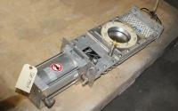 Valve 5 Salina Vortex gate valve, pneumatic, Stainless Steel Contact Parts