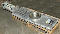Valve 10 Salina Vortex gate valve, pneumatic, Stainless Steel Contact Parts