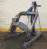 Material Handling Equipment drum dumper, 800 lbs. Morse model 400AM-72-114, 72