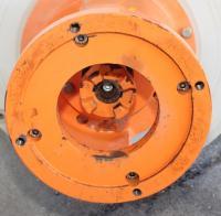 Pump 50x32x230 mm Munsch Chemie-Pumpen vertical centrifugal pump model TNP-KL 50 32-200, Polypropylene