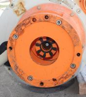Pump 65x40x280 mm Munsch Chemie-Pumpen vertical centrifugal pump model TNP-KL 65 40-250, Polypropylene