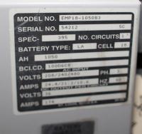 Miscellaneous Equipment battery charger, 36 volts VARTA