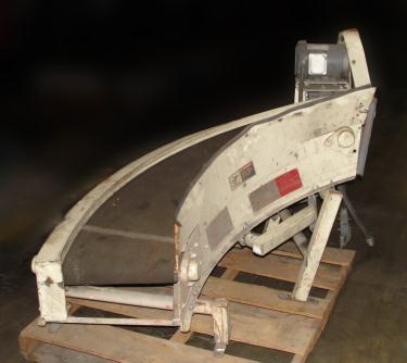 Conveyor PORTEC belt conveyor model AA2214, CS