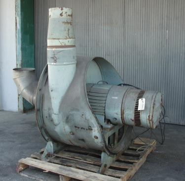 Blower 1430 cfm centrifugal fan Spencer Vaccum Producer model 35 X 20 Cat No., 25 hp, CS