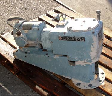 Agitator 2 hp Philadelphia Mixers top mount agitator model 3801S PTO