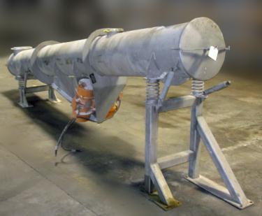 Conveyor VAV Scan Vibro vibratory conveyor Stainless Steel, 16 dia x 148l