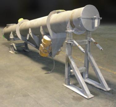 Conveyor VAV Scan - Vibro vibratory conveyor Stainless Steel, 16 dia x 148l