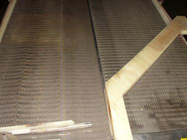 Accumulation Table 36w x 96l accumulation area Garvey rectangular flow thru accumulation table model 4700 CS