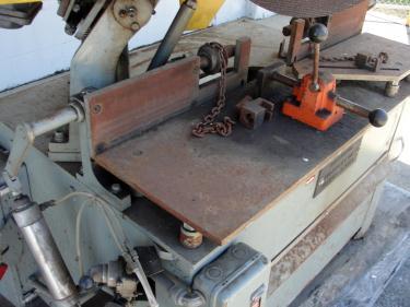 Machine Tool 16 Kalamazoo Industries abrasive cut off saw 7.5 hp