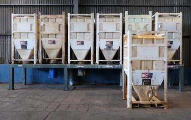 Bin 80 cu.ft., bulk storage bin, poly