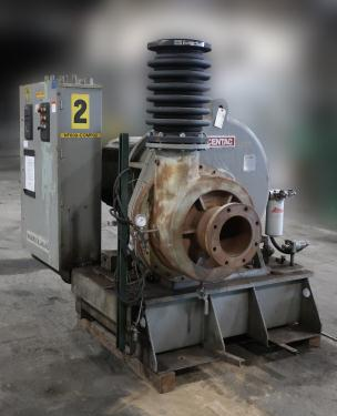 Compressor 250 hp Ingersol-Rand air compressor model CH5-18M1H, 1817 cfm