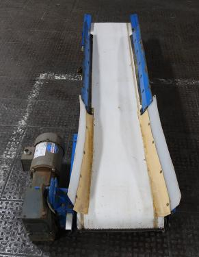 Conveyor Patz belt conveyor CS, belt length 83L  x 12 1/2 w