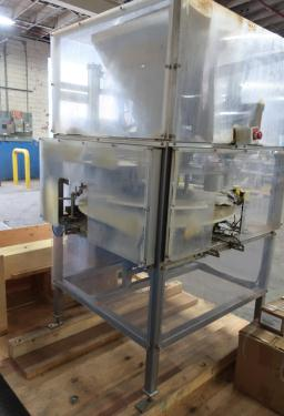 Filler 4 Tamp Cylinders filling tubes Mac Manufacturing volumetric filler model SSRF 101, 5000 RPM max