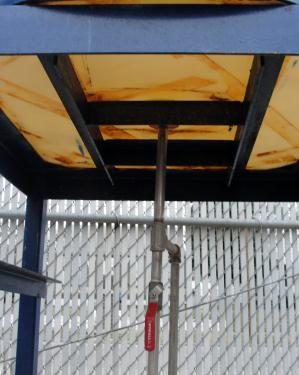 Tank 200 gallon vertical tank, poly, Bottom