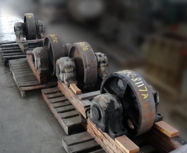 Miscellaneous Equipment (4)trunnions, 24dia.x 6face, CS