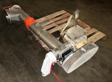 Conveyor screw conveyor Stainless Steel Contact Parts, 6 x 70 long