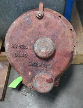 Heat Exchanger 9.63 sq.ft. Heliflow spiral heat exchanger, 150 test psi shell, 350 test psi internal, Copper