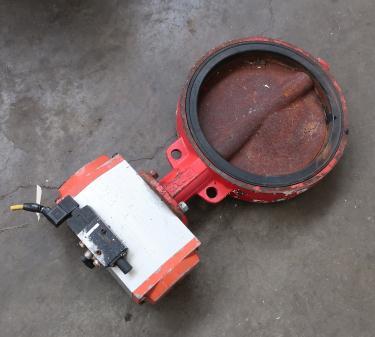 Valve 12 BRAY butterfly valve CS, pneumatic operator