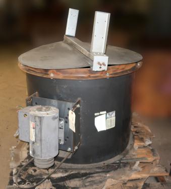 Blower axial blower 30 dia. 2 hp, CS, butterfly style rain lid