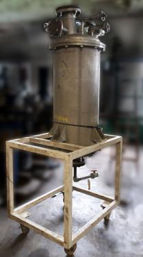 Tank 60 gallon vertical tank, Stainless Steel