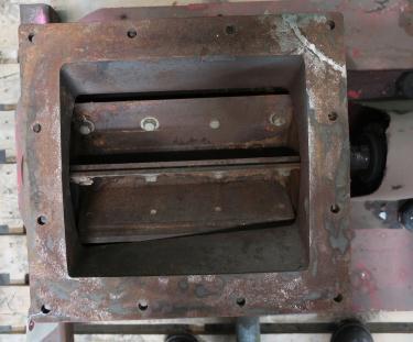 Valve 10 x 11 CS Semco rotary airlock feeder