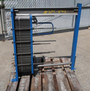 Heat Exchanger 79 (Approx.) sq.ft. APV plate heat exchanger, Stainless Steel Contact Parts