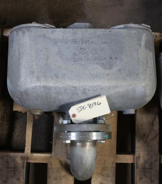 Valve vacuum conservation vent, 3 vent size Protectoseal model 8743, Aluminum