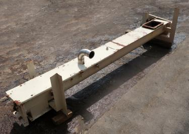 Conveyor screw conveyor CS, 10 x 140 long