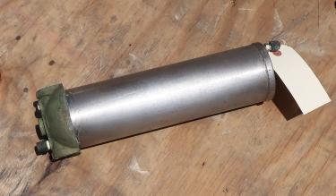 Filtration Equipment 1 NPT cartridge filter Stainless Steel, sintered porous metal cartridge
