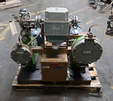Pump 3/4 Pulsafeeder diaphragm metering pump, Stainless Steel Contact Parts