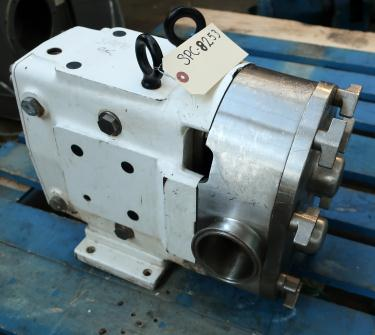 Pump 3 inlet AMPCO positive displacement pump model RBZP1-130-S0, Stainless Steel