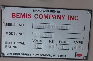 Case Sealer Bemis case taper model 1020 S - 3
