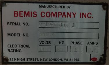 Case Sealer Bemis case taper model 1020S