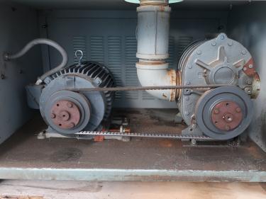 Blower 570 cfm, positive displacement blower Thoreson McCosh, 10 hp