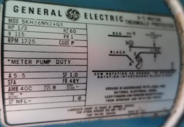 Pump 1 Neptune Chemical Pump diaphragm metering pump, CS